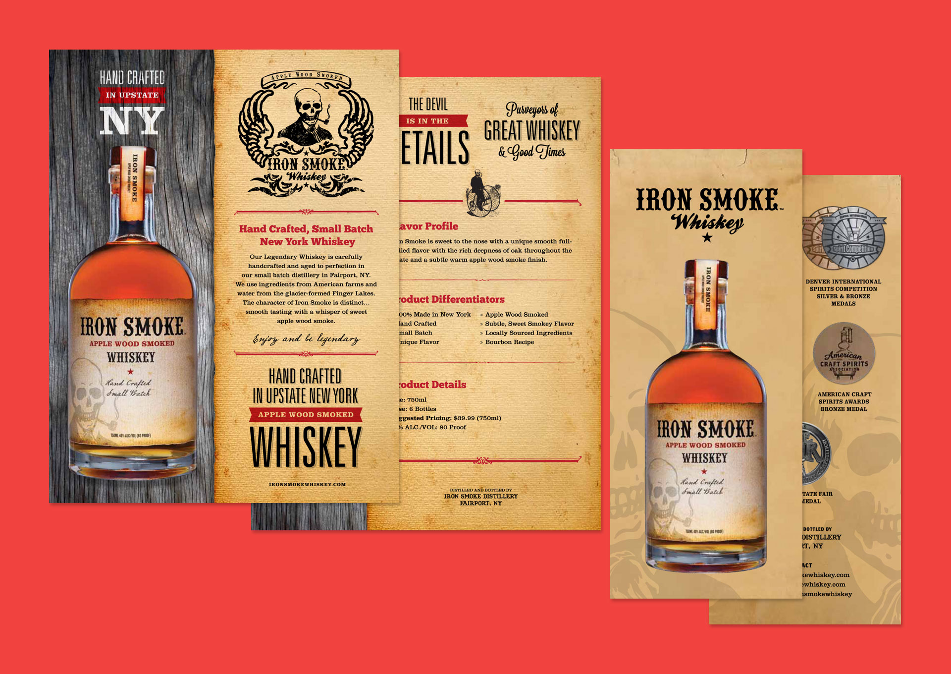 Iron Smoke Whiskey Print Materials