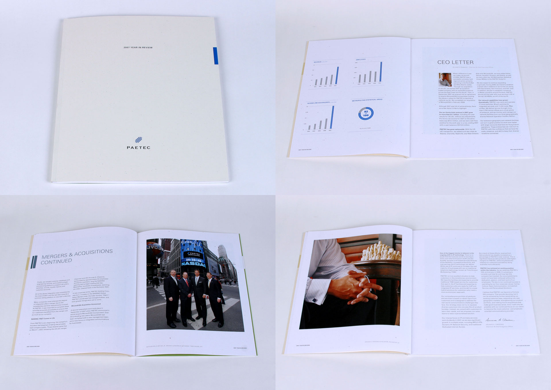 PAETEC Year in Review Book